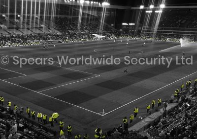 Event Security Stadium view filtered
